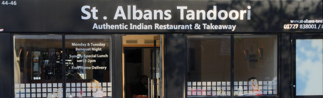 st albans tandoori Indian restaurant